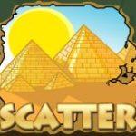 Pharaoh King online automat - scatter symbol