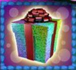 Speciální symbol ze hry online automatu Wild Birthday Blast