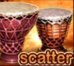 Scatter symbol z automatu Aloha Party online