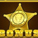 Symbol bonusu z hermího automatu Badlands Bounty
