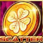 Symbol scatter z herního stroje Groovy Automat