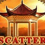 Scatter symbol z herního automatu Tibetan Song