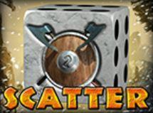 Scatter symbol z automatové hry 100 Dice