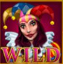 Wild symbol z výherního automatu Burning Dice