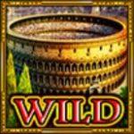 Wild symbol z online automatu Legendary Rome