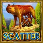 Scatter symbol z výherního automatu Legendary Rome zdarma