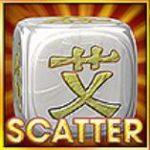 Scatter symbol ze hry automatu Rolling Dice