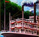 Symbol wild z herního automatu Steamboat