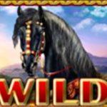 Wild symbol z automatové hry The Story of Alexander