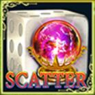 Scatter symbol z online automatu Dice of Magic