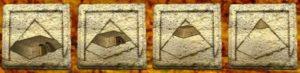 Bonusová hra z hracího automatu Pyramid Plunder
