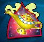 Symbol scatter z online automatu Aladdin´s Wishes