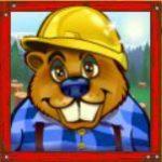 Online kasino hra Builder Beaver - wild symbol