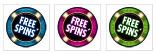 Scattery z hracího automatu Crazy Vegas online