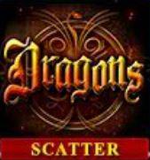 Online hrací automat Dragons - scatter symbol
