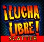 Scatter symbol - online výherní automat El Luchador!