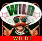 Wild symbol z hracího automatu El Luchador!