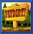 Symbol scatter ze herního automatu PayDirt!