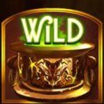 Wild symbol z online automatu Alchymedes