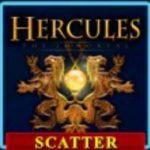 Scatter symbol z herního automatu Hercules the Immortal