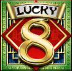 Symbol scatter z automatu Lucky 8