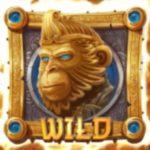 Wild symbol z online automatu Legend of the Golden Monkey