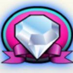 Symbol wild z hracího automatu Lucky Diamonds
