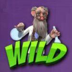 Wild symbol z herního kasino automatu Manic Millions