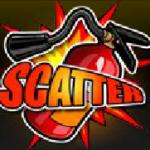 Scatter symbol z hracího automatu Fire Burner