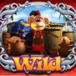 Wild symbol z herního automatu Genie Jackpots