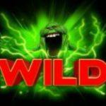 Wild symbol z hracího automatu Ghostbusters
