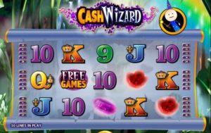 Cash Wizard herní automat online