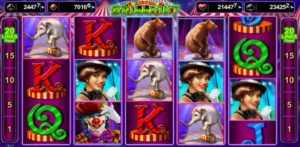 Obrázek kasino online automatu Circus Brilliant