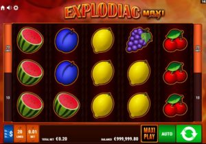 Video casino automat Explodiac online