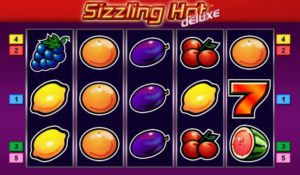 Sizzling Hot Deluxe online video hra
