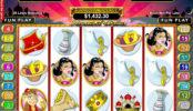 Online automatová casino hra bez stahování Aladdin´s Wishes