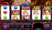 Online automatová casino hra bez stahování Alice and the Mad Tea Party