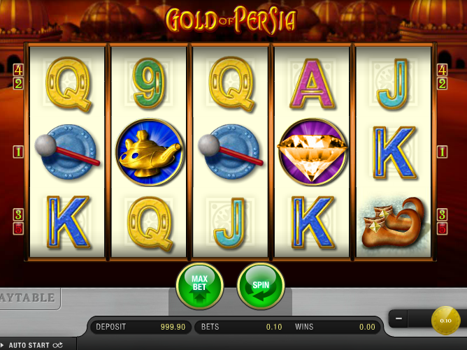 Gold Of Persia Online