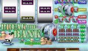 Obrázek ze hry online automatu Break the Bank