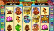 Online automatová casino hra bez stahování Builder Beaver