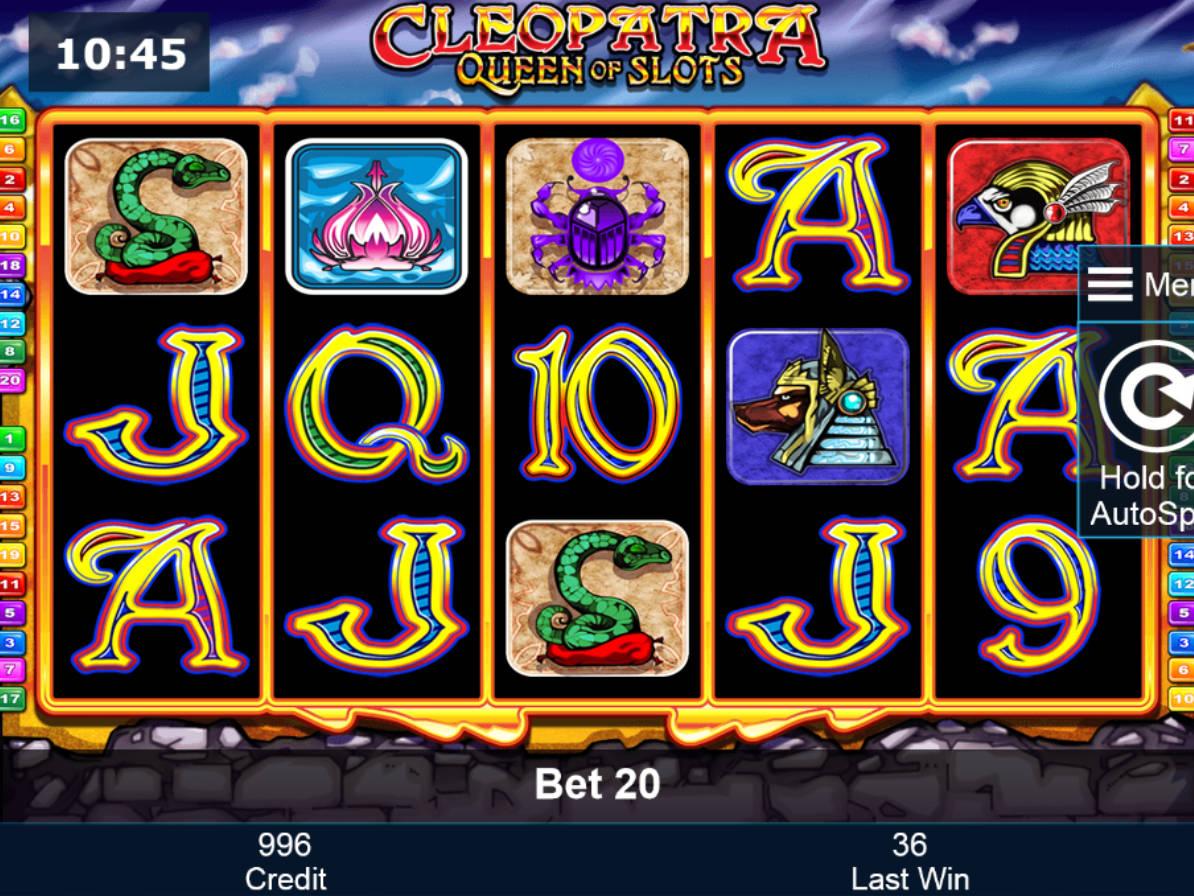 cleopatra online slot free 5 paysafecard