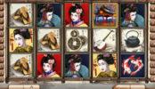 Obrázek z kasino automatu Geisha