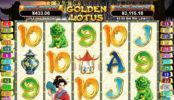 Online automatová casino hra bez stahování Golden Lotus