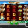 Online automatová casino hra bez stahování Hero´s Quest