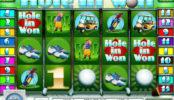 Obrázek automatové hry Hole in Won online