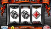 Zábavný kasino automat Pistols and Roses bez registrace