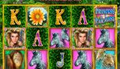 Obrázek ze hry automatu Princess of Paradise bez registrace