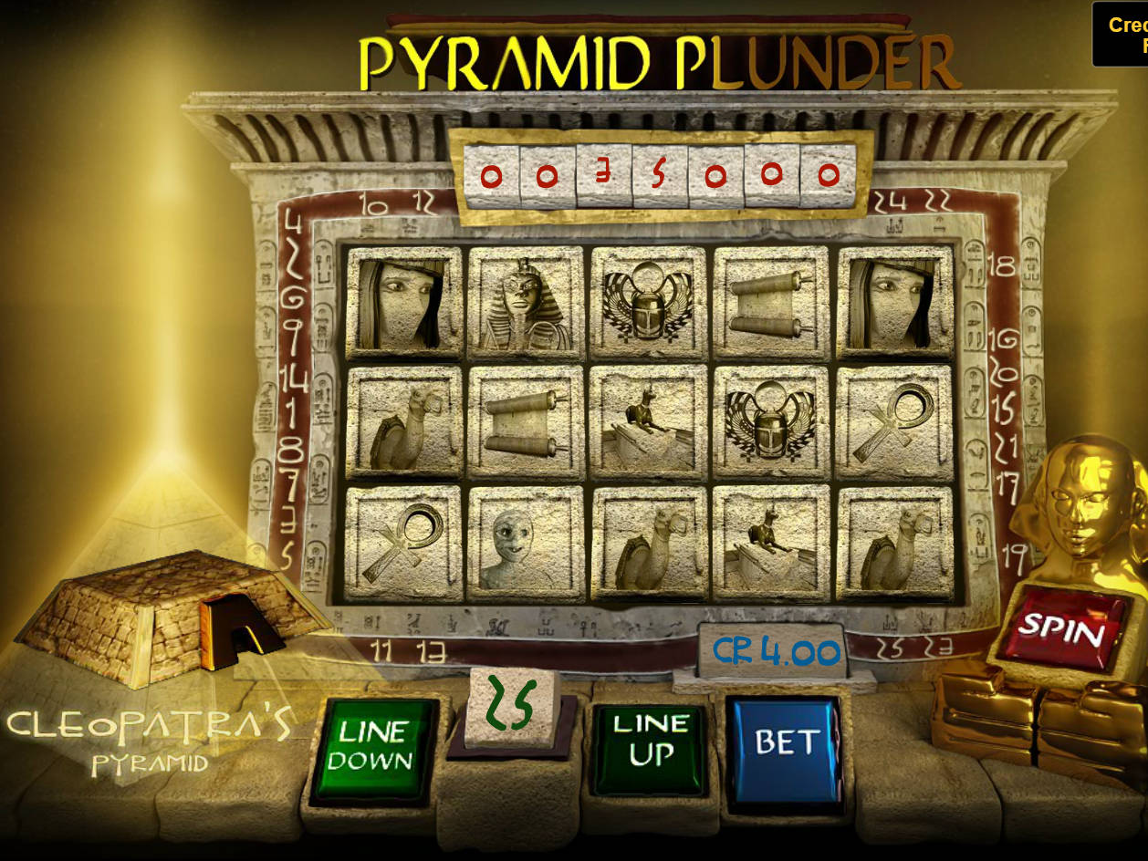 Where is pyramid plunder