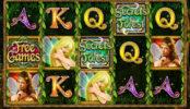 Obrázek z automatové hry Secrets of the Forest
