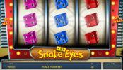 Obrázek kasino automat zdarma Snake Eyes